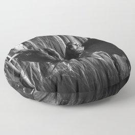A Murder of Crows Floor Pillow