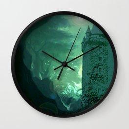 Caisleán Grove Poison Wall Clock
