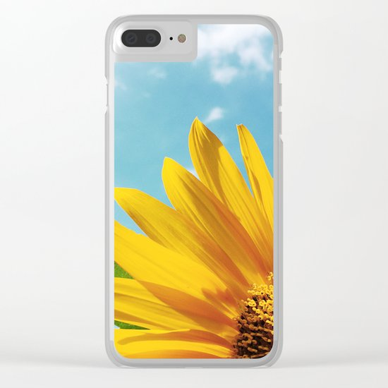 Summer Bliss Clear iPhone Case