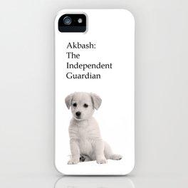 Akbash iPhone Case