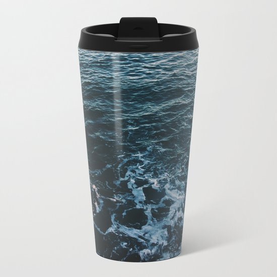 Dark #Sea Metal Travel Mug