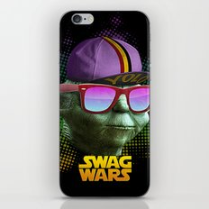 Yoda Swag iPhone & iPod Skin