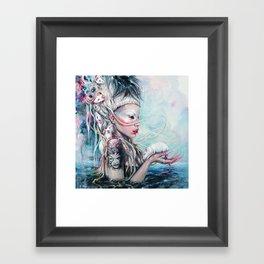 Yolandi The Rat Mistress  Framed Art Print