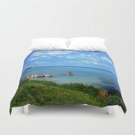Island of Bermuda Duvet Cover