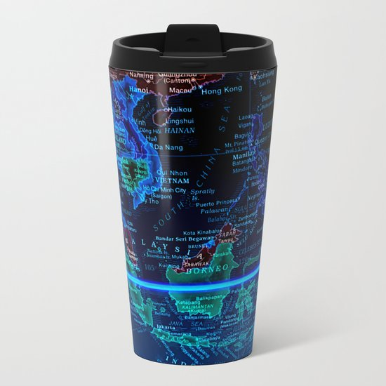 Southeast Asia Metal Travel Mug