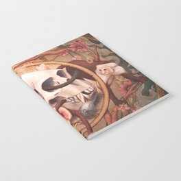 Capuchin Vanitas Notebook
