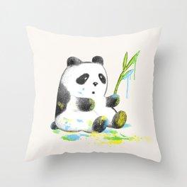 The Artist Throw Pillow