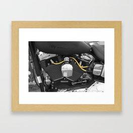 Harley V  Framed Art Print