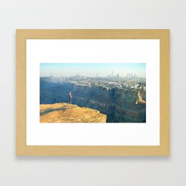 Earth 3015 Framed Art Print