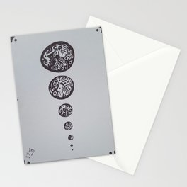 Evolution of Thought Stationery Cards