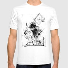Gonzo SMALL White Mens Fitted Tee