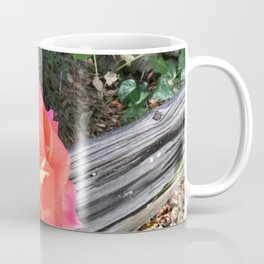 Rose On a fence Coffee Mug
