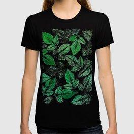 Green foliage T-shirt