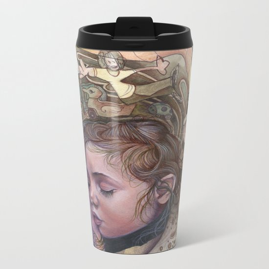 Dreaming Metal Travel Mug