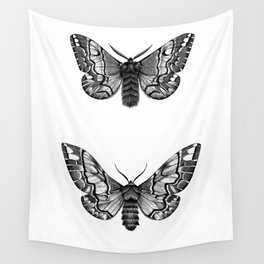Endromis versicolora Wall Tapestry