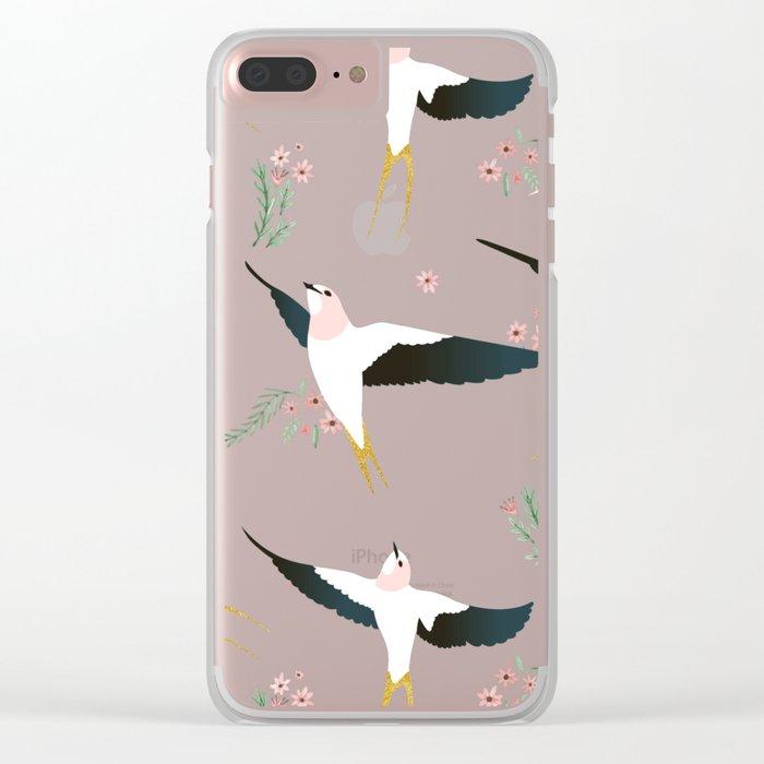 Birds #society6 #decor #buyart Clear iPhone Case