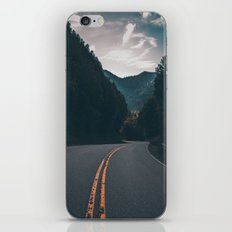 Road #Trees iPhone Skin