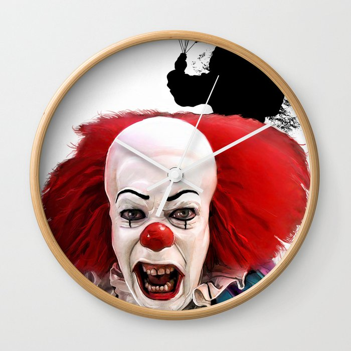 Pennywise the Clown: Monster Madness Series Wall Clock