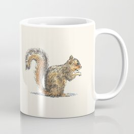 Sitting Squirrel Coffee Mug