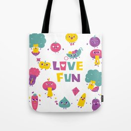 love fun Tote Bag