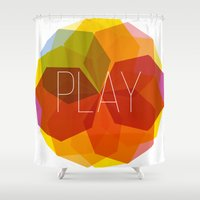 play Shower Curtains featuring play by Helmo Studio