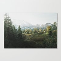 narnia Canvas Prints featuring Narnia by MatteoEwing
