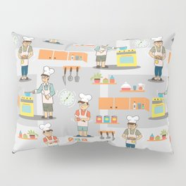 Young Chef Pillow Sham