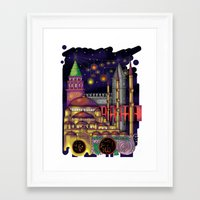 istanbul Framed Art Prints featuring Istanbul  by Aleksandra Jevtovic