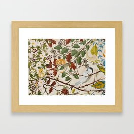 Marsh Tit and Field Mice Framed Art Print