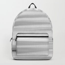 Black and White Stripes Abstract Backpack