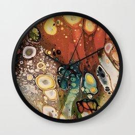 Autumn leaf colors Wall Clock