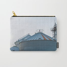 Grain Bins on the Farm Carry-All Pouch