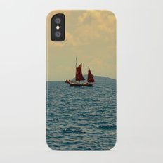 Lonely Boat Slim Case iPhone X
