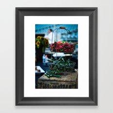 Cool Peppers Framed Art Print