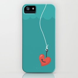 Fishing=Love iPhone Case