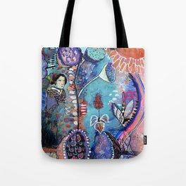 Meeting My Abundance Tote Bag