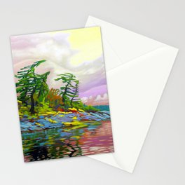 Wind Sculpture by Amanda Martinson Stationery Cards