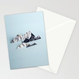 Paper mountains Stationery Cards