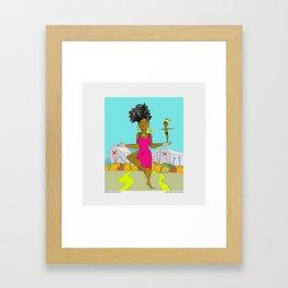 2016 Holder of the Sun #biko70 Framed Art Print