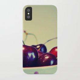 Cherry blues iPhone Case