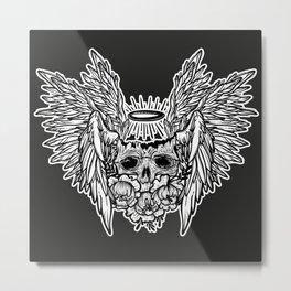 dead Angel. skull Metal Print