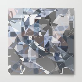 Biomorphic Ornamentalist II Metal Print