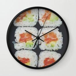 Sake Maki Wall Clock