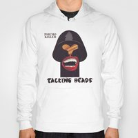 talking heads Hoodies featuring Talking Heads by Popp Art