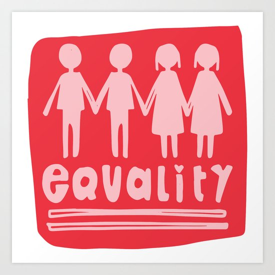 Equality Love II Art Print