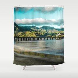 Sunrise at Hanalei Shower Curtain