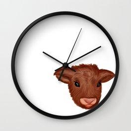 Fluffy Friend Wall Clock