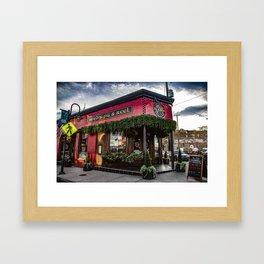 Boyds Jig and Reel Framed Art Print