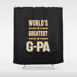 World's Greatest G-Pa Shower Curtain