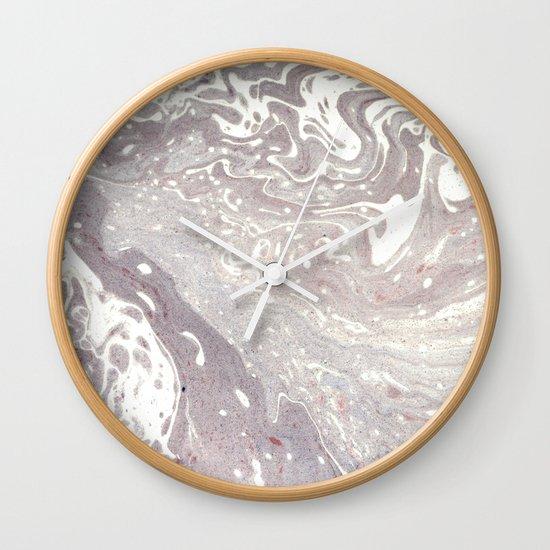 Multicolor Marble Wall Clock